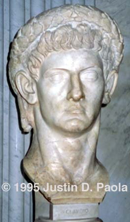 a biography of claudius a roman emperor Claudius ii (laitin: marcus aurelius valerius claudius augustus mey 10, 213 - januar 270), commonly kent as claudius gothicus, wis roman emperor frae 268 tae 270 during his reign he foucht successfully against the alamanni an scored a victory against the goths at the battle o naissus.