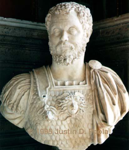 سيبتيموس سيفيروس الملك الليبي الذي حكم روما منتديات اسياد مصر